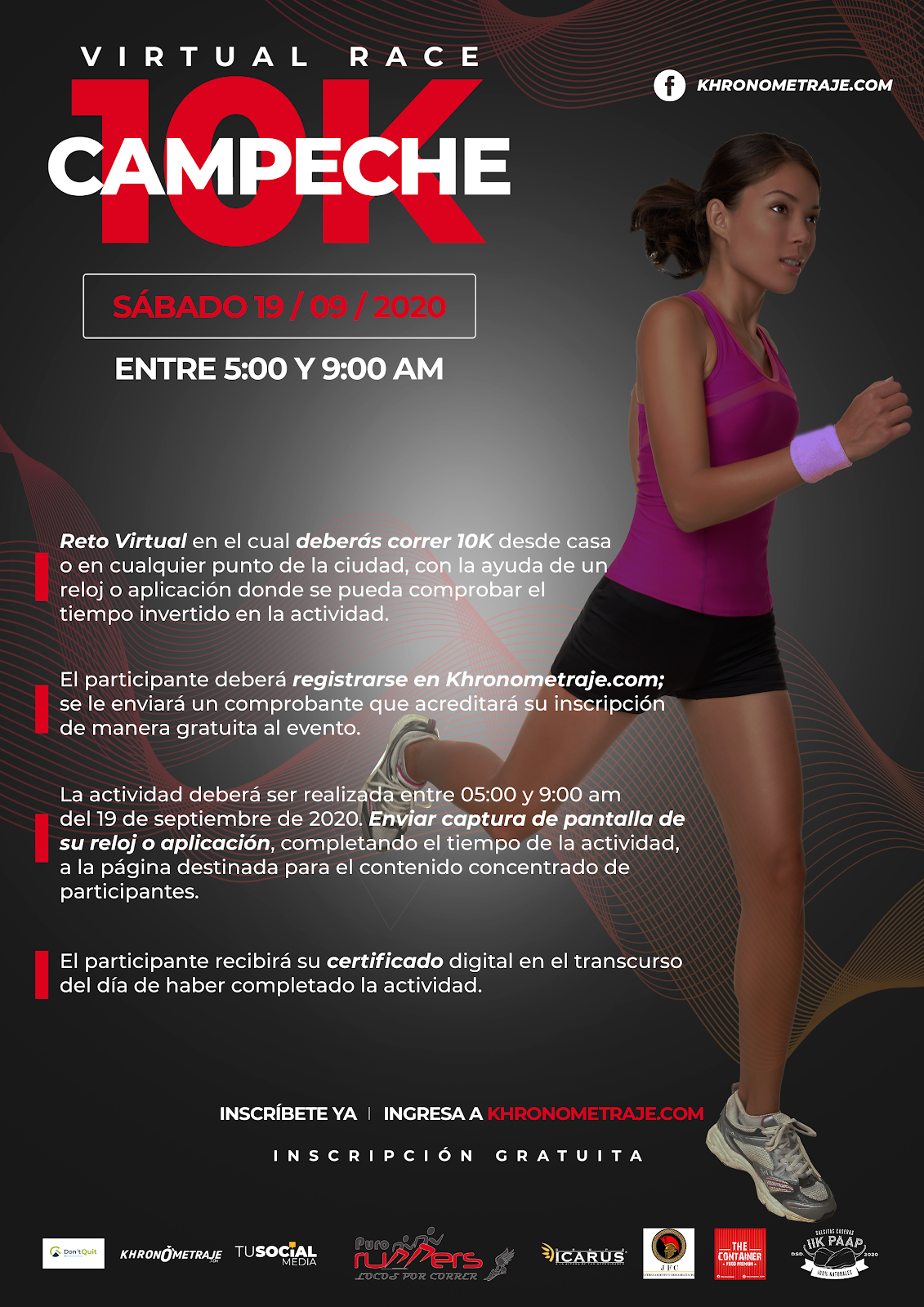 Virtual Race Campeche 10 k