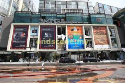 Letupan Di Empire Shopping Gallery meletup