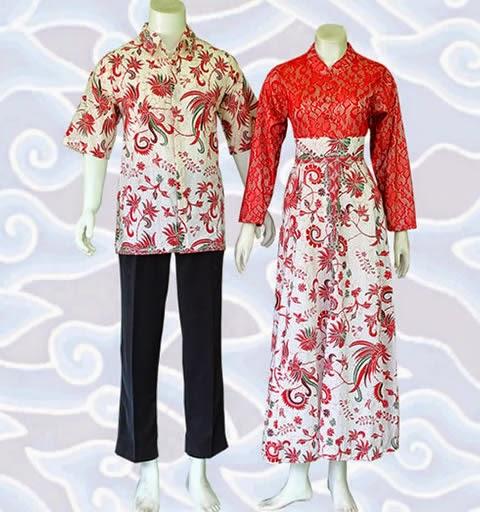 Baju Batik Couple Modern Terbaru Murah Online