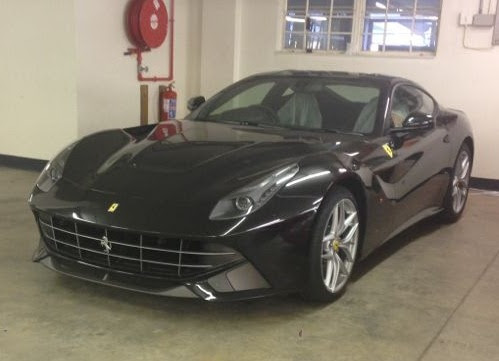 First Black Ferrari F12 Berlinetta in South Africa