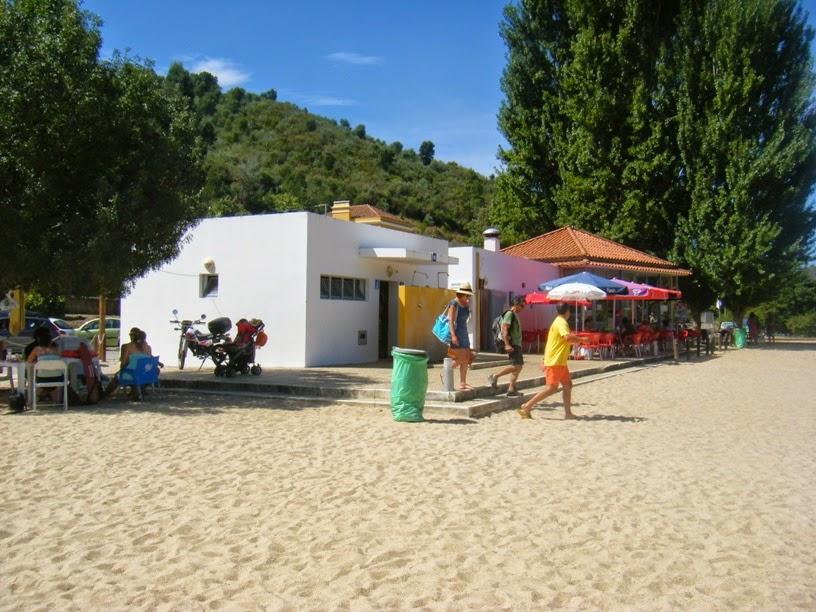 Nadador Salvador da Praia Fluvial do Alamal