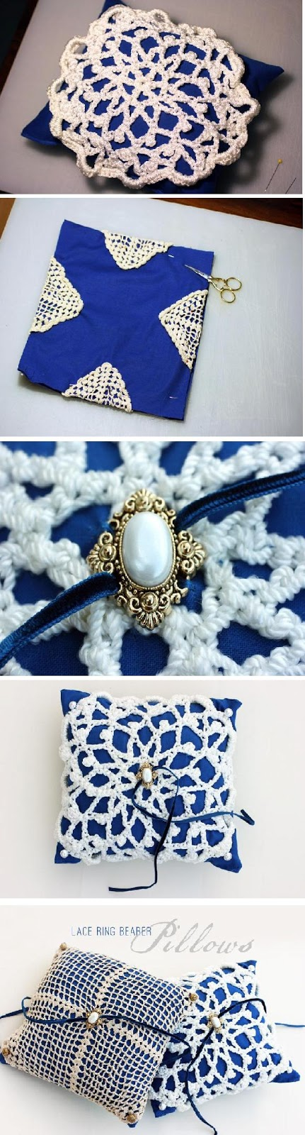 Diy ring bearer pillow diy craft tutorials for Diy ring bearer