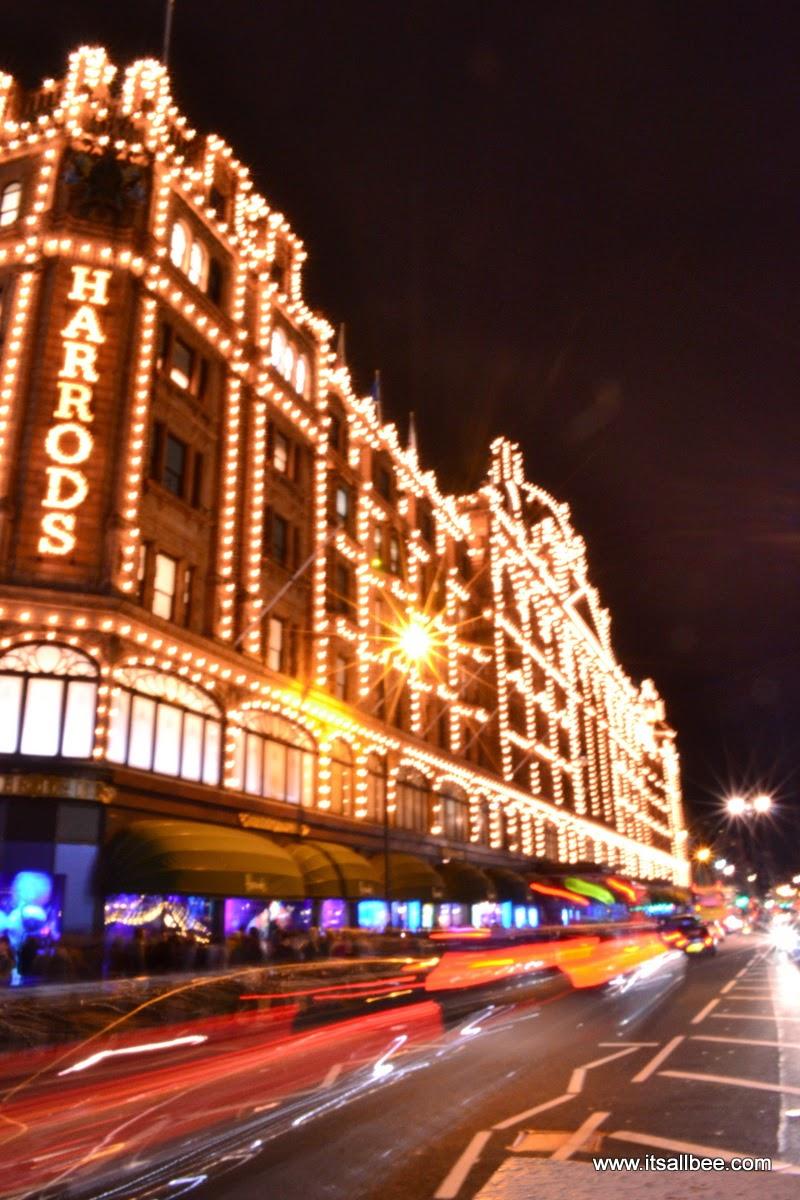 Harrods Christmas Festivities + Tips On Hotels Near Harrods