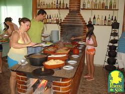 Rancho Caipira Com Musica Ao Vivo...Hotel Fazenda Portal do Sol