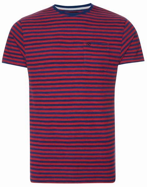 Primark online: camiseta a rayas de la colección Farrell para hombre