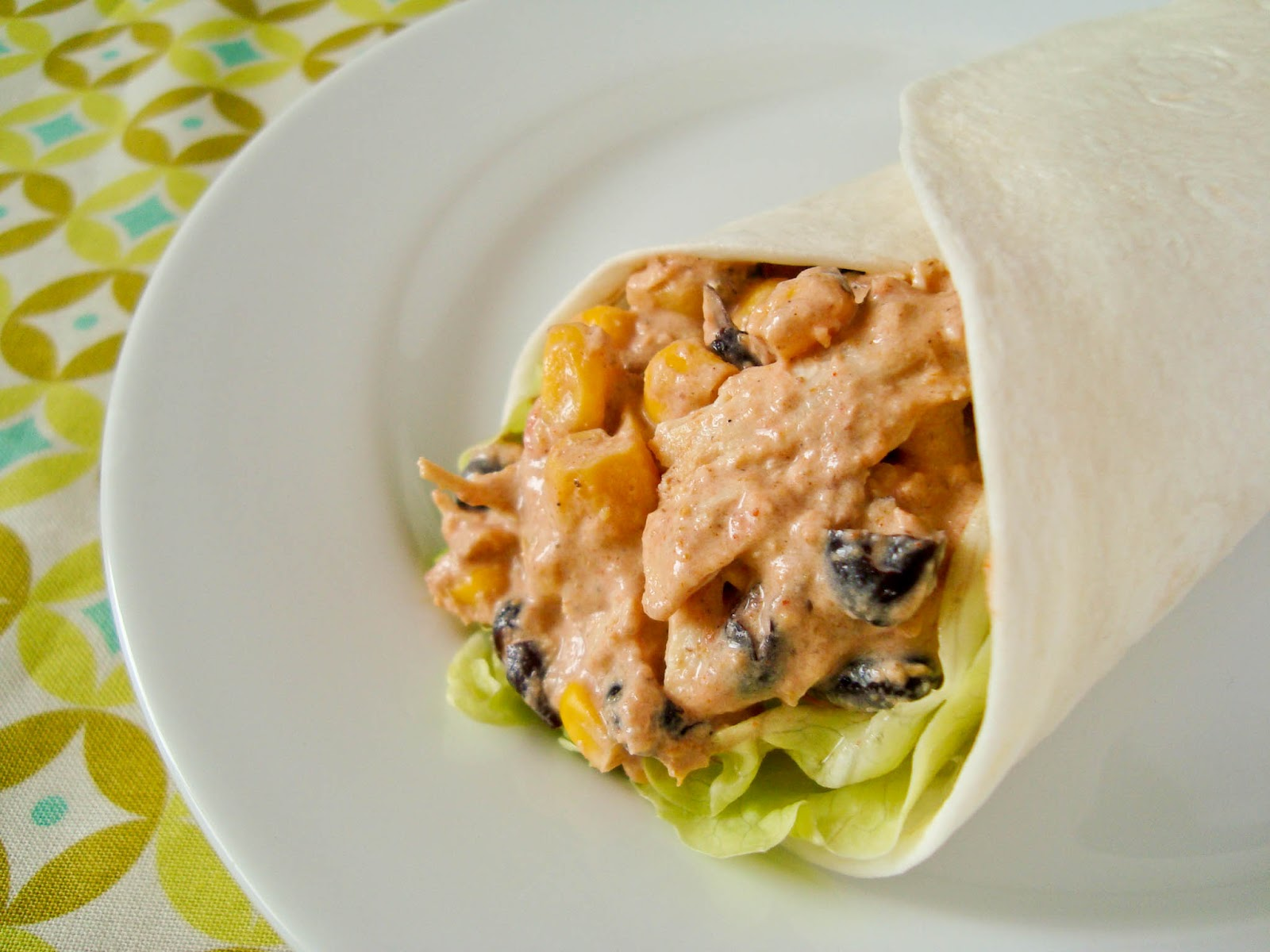 Cupcake with Sprinkles: Fiesta Chicken Burritos