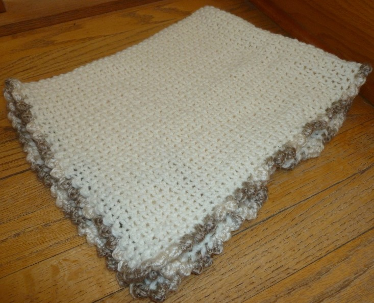 Basic Loom Knitting Instructions : Loom lore brenda s basic baby blanket