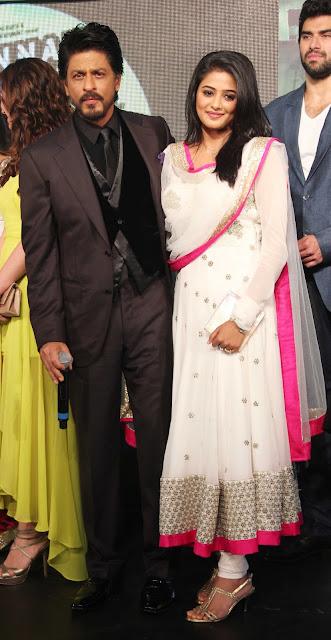 SRK, Deepika & Priyamani at 'Chennai Express' Audio Launch event