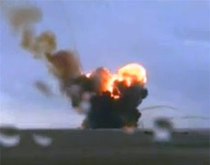 Russian Proton-M Rocket Crash