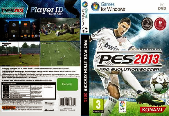 Download Pro Evolution Soccer 2013 ( PES 2013 ) PC Game Full Version + Crack and Serial