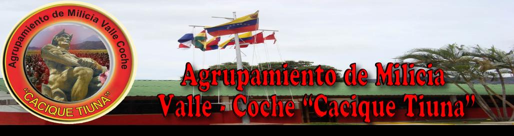 """Agrupamiento de Milicia Valle - Coche """"Cacique Tiuna"""""""