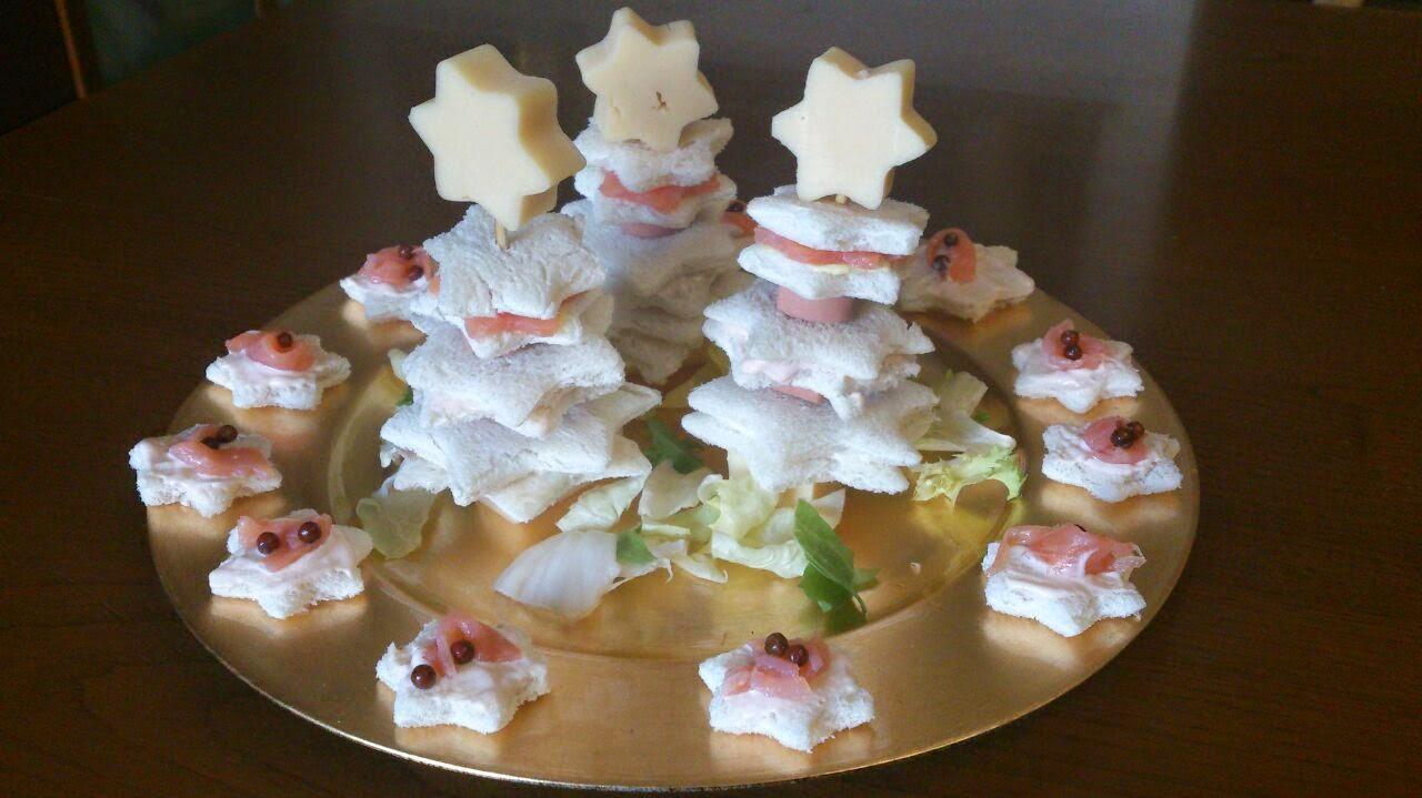 Antipasti Alberelli Di Natale.Antipasti E Non Solo Alberelli Di Pane