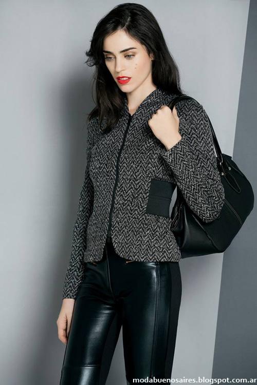 Sacos y abrigos de moda invierno 2014 Ruben Cassin.