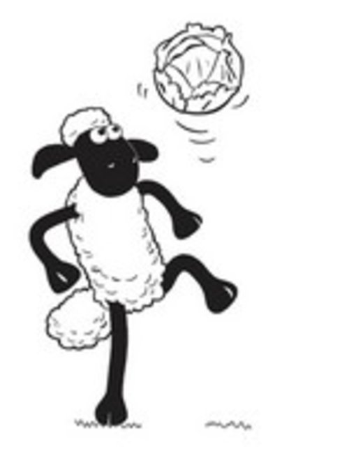 Free Coloring Pages : Shaun The Sheep Coloring Pages For Kids