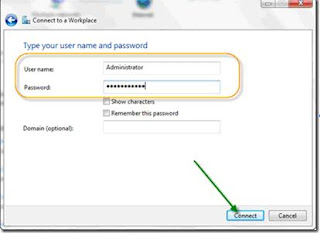 TUTORIAL VPN  PADA WINDOWS 7
