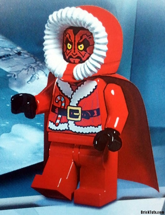 Lego star wars 2012 advent calender santa darth maul