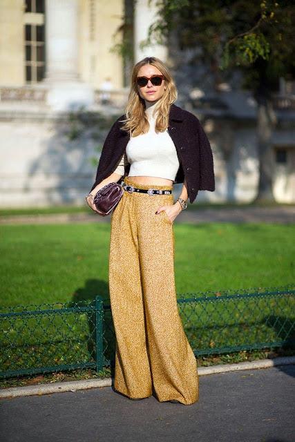 Moda de rua Paris - Street style - Fashion street pantalonas