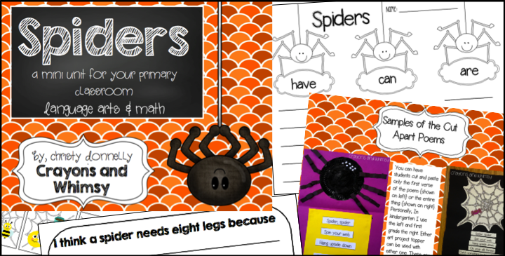 crayons and whimsy spiders educents preview