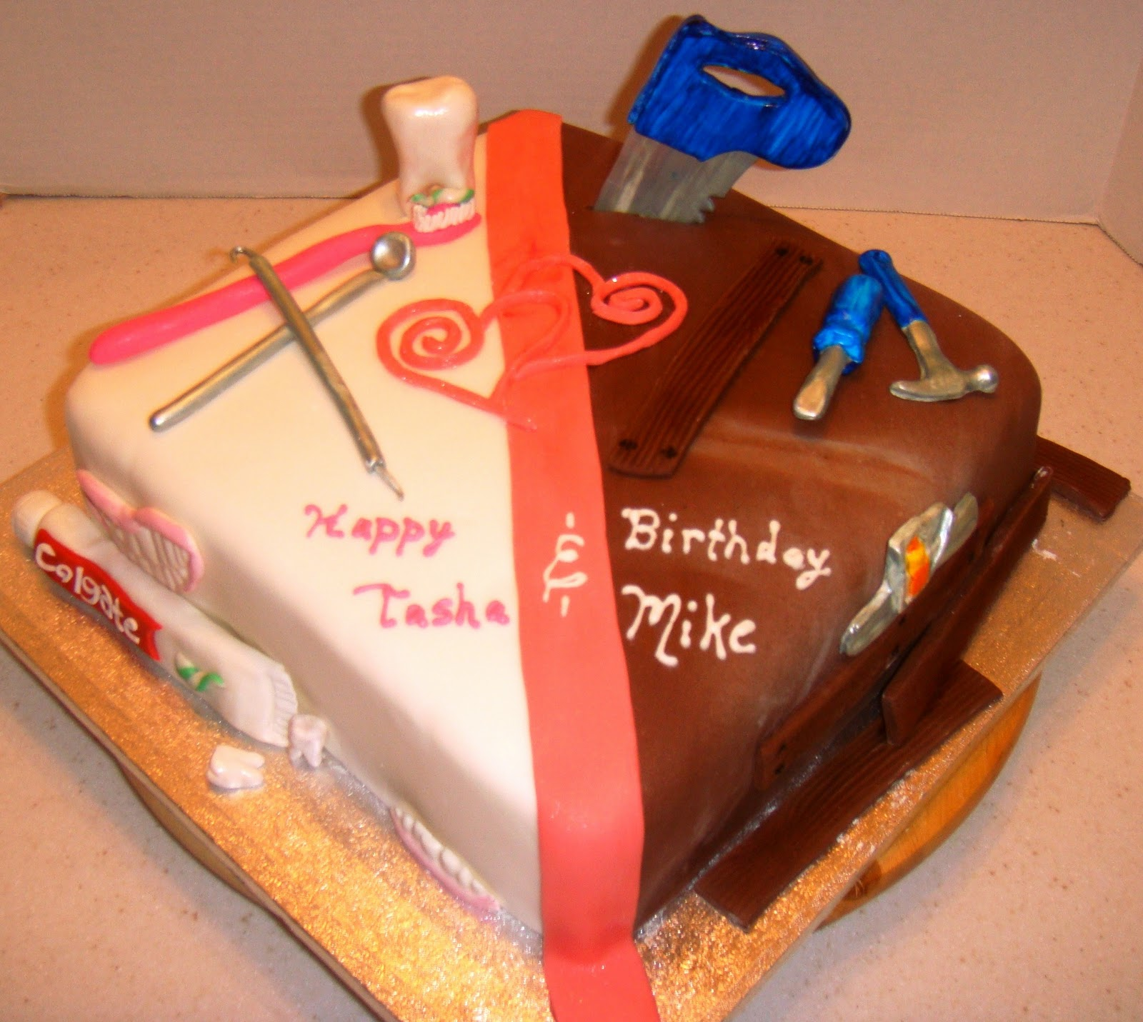 Marymel Cakes Double Birthday Wishes