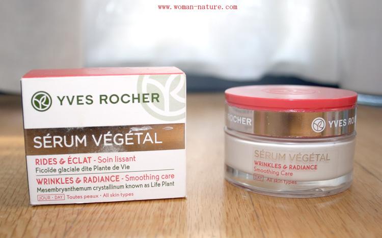 Serum Vegetal antiarrugas luminosidad Yves Rocher