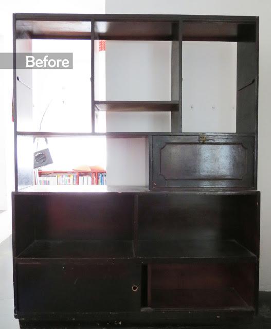 Furniture makeover / Renovación de un mueble