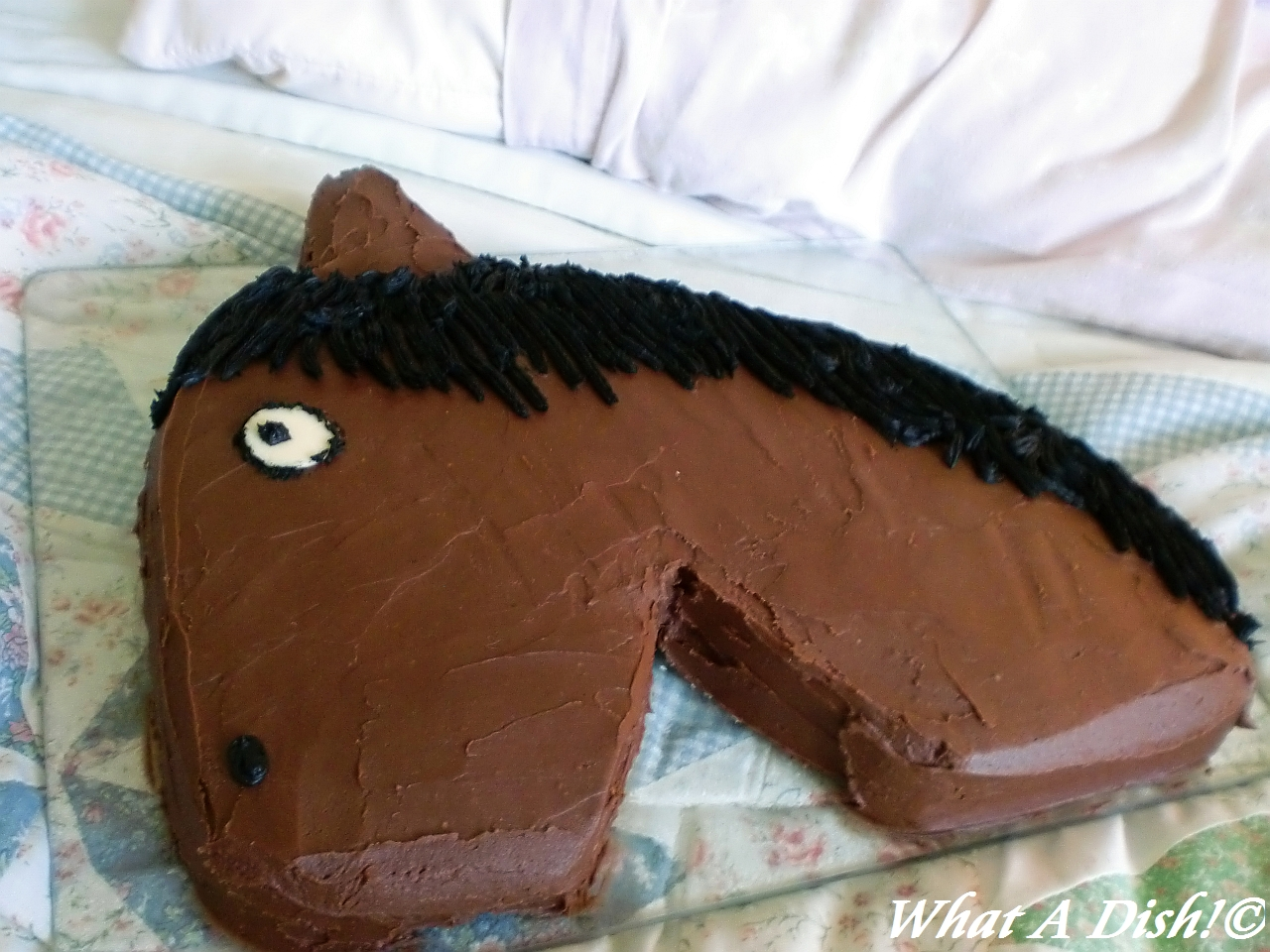 What A Dish!: Horse Birthday Cake!