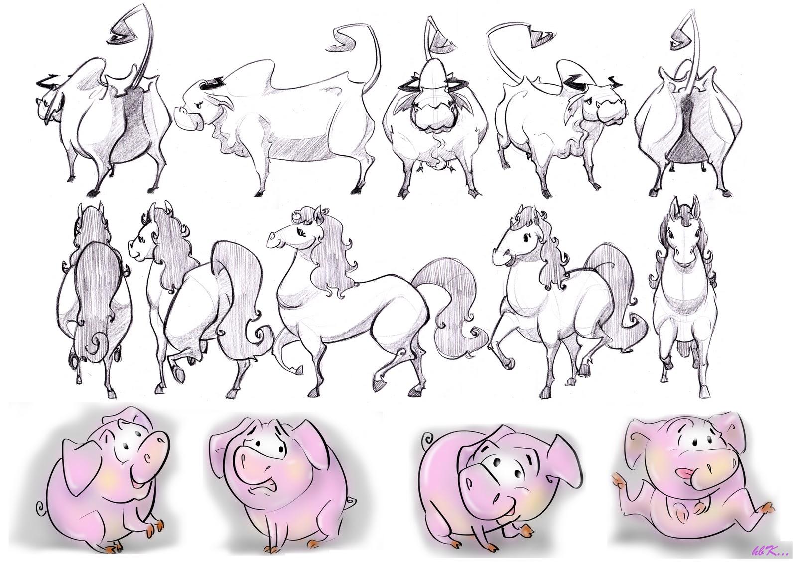 Character Design Studio : Bloomingsun studio character design all styles