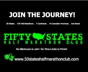 Half Marathon Running in 50 States