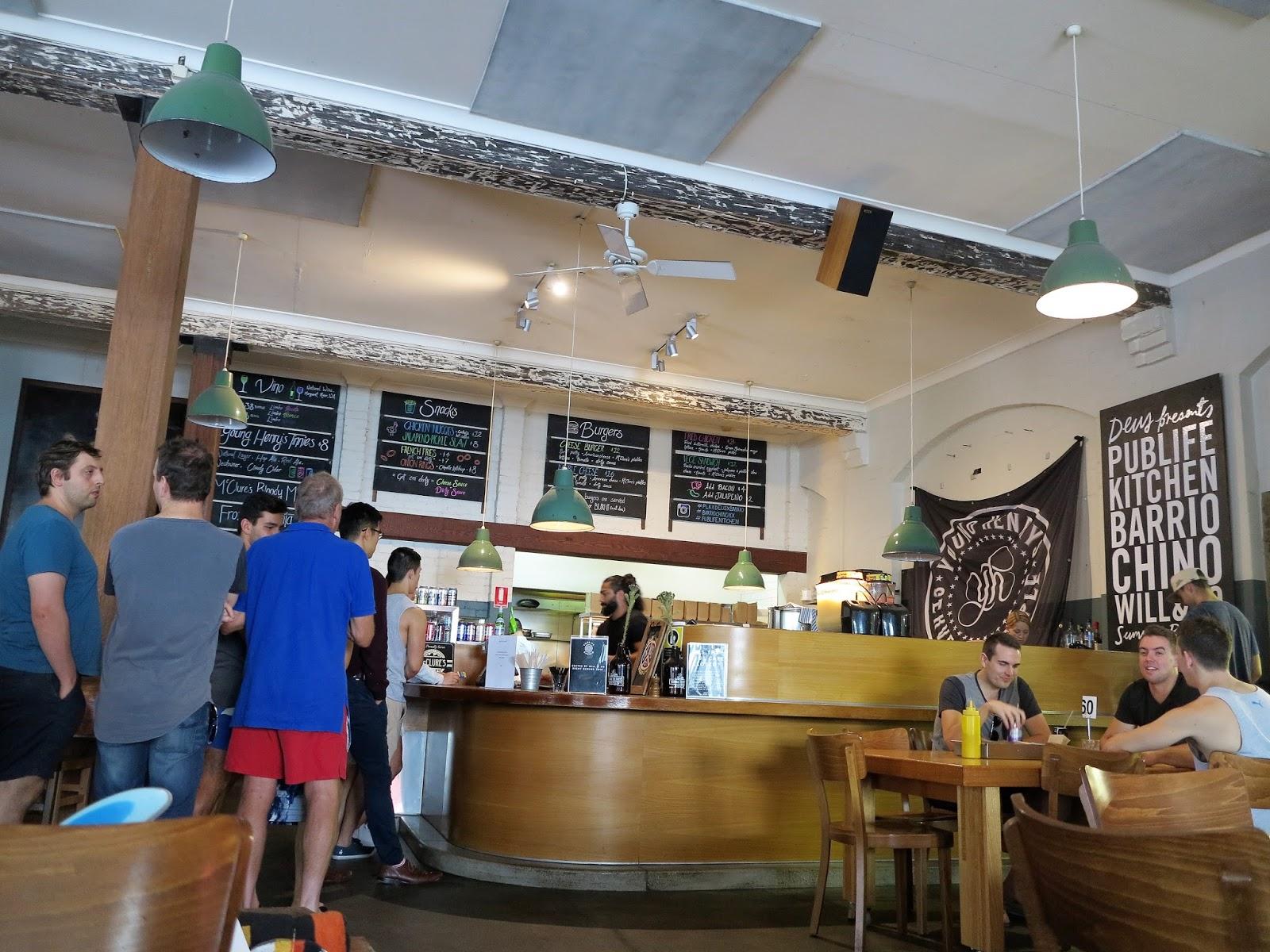 Pub Life Kitchen x Barrio Cellar Burger Pop Up Deus Cafe