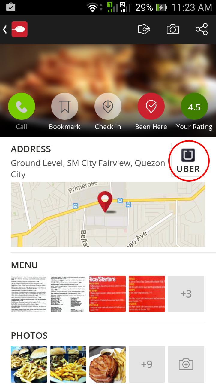 Zomato App with Uber - Free Rides for First Timers! - Geeky Juan