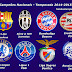 Equipes do Pote 1 da UEFA Champions League 2015-2016