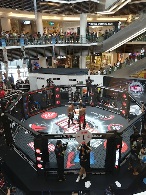 Malaysian Invasion Mixed Martial Arts (MIMMA) paradigm mall