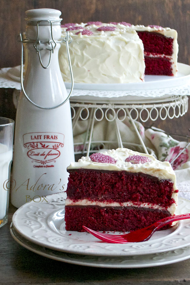 Red Velvet Box Cake Without Eggs