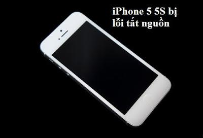 Nguyên nhân iPhone 5s tự tắt nguồn bật không lên