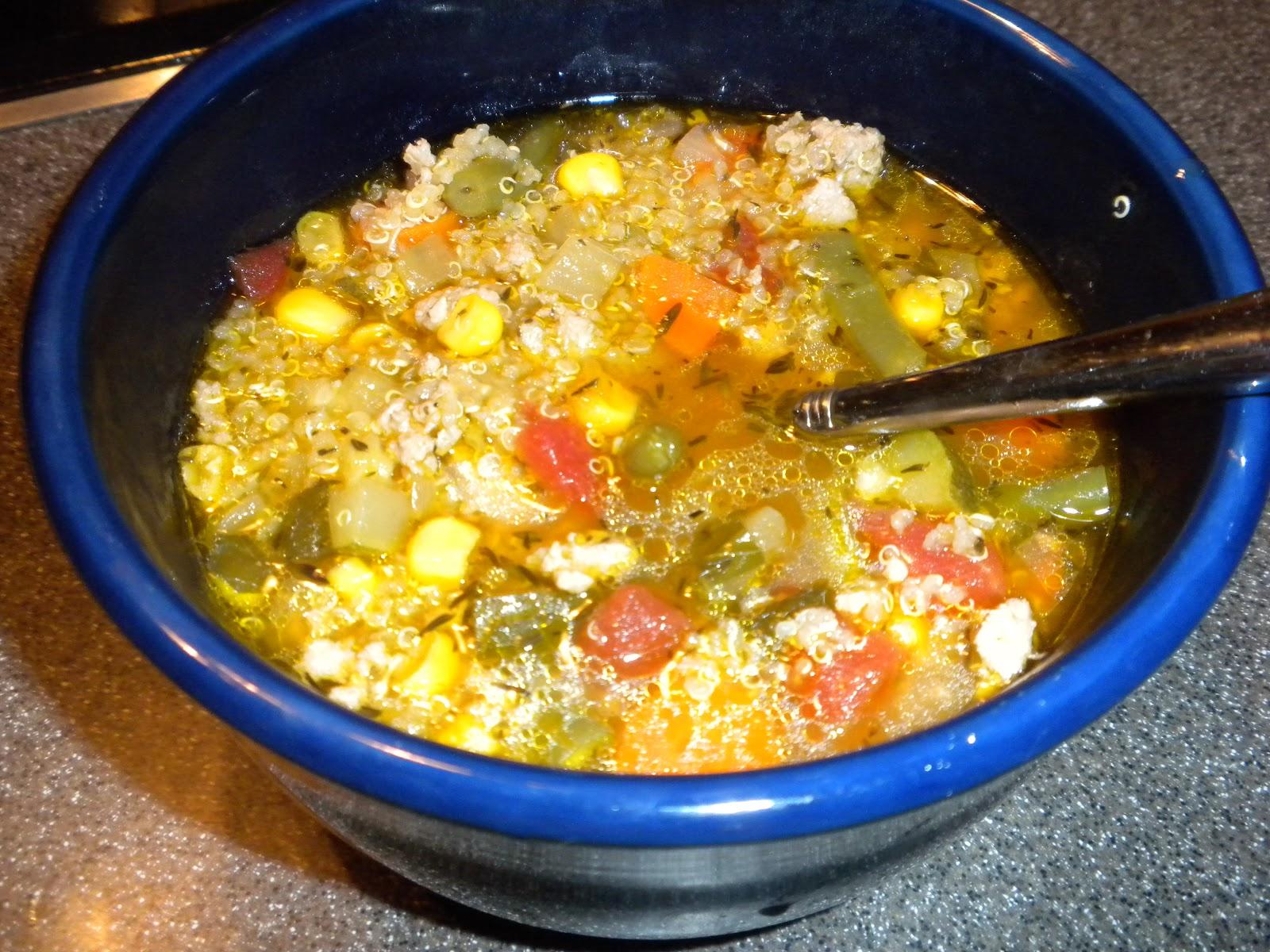 Turkey, Vegetable Quinoa Soup | BlogHer