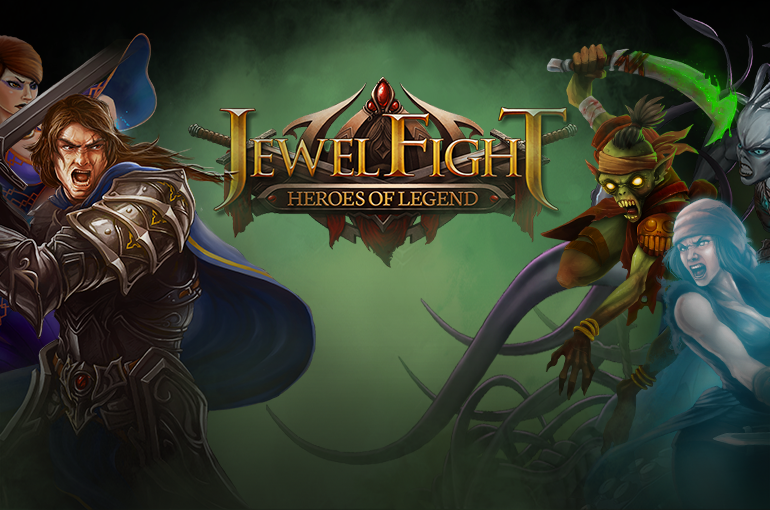 Jewel Fight Heroes of Legend MOD APK+DATA (Unlimited Gems/Coins)