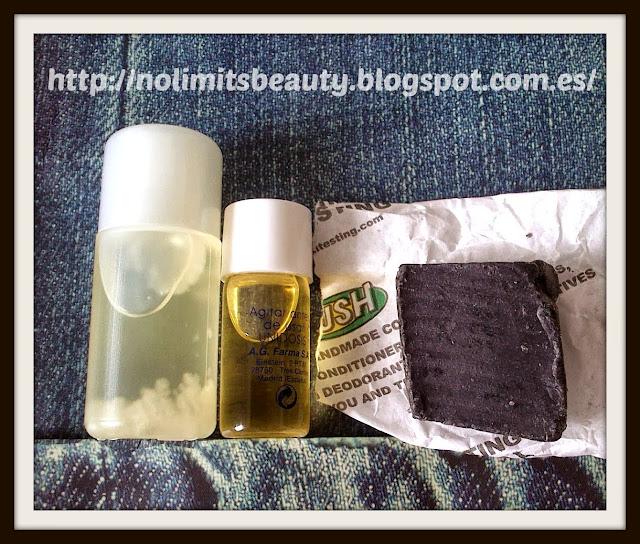 Aceite de coco tiaré & de argán - Jabón de regaliz de Lush