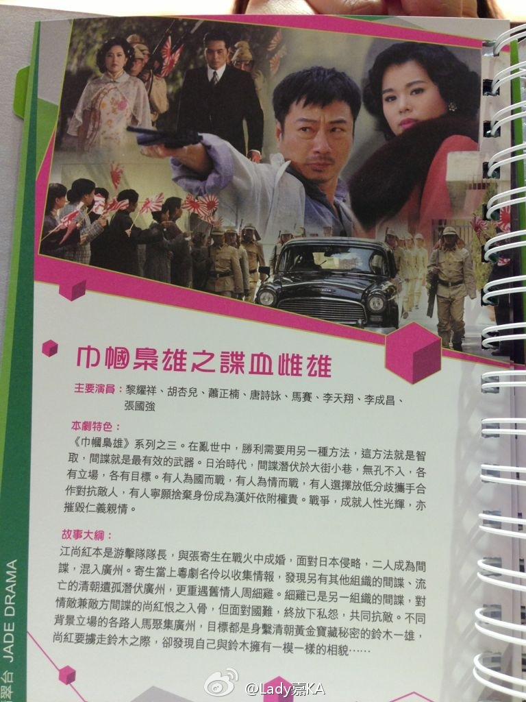 TVB 2013 Sales Presentation Booklet & Screen Captures