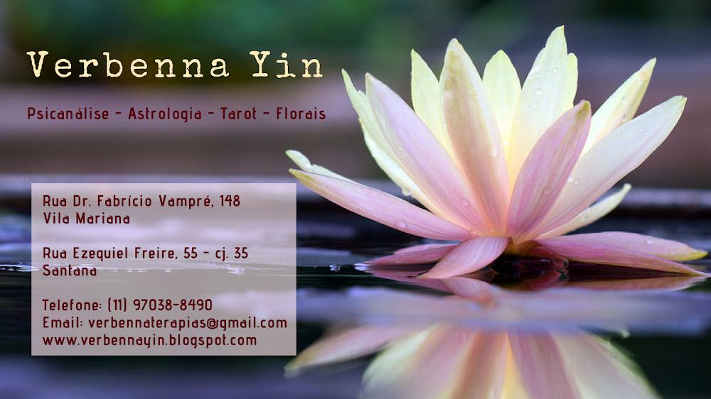 Verbenna Yin - Astrologia, Tarot e Psicanálise