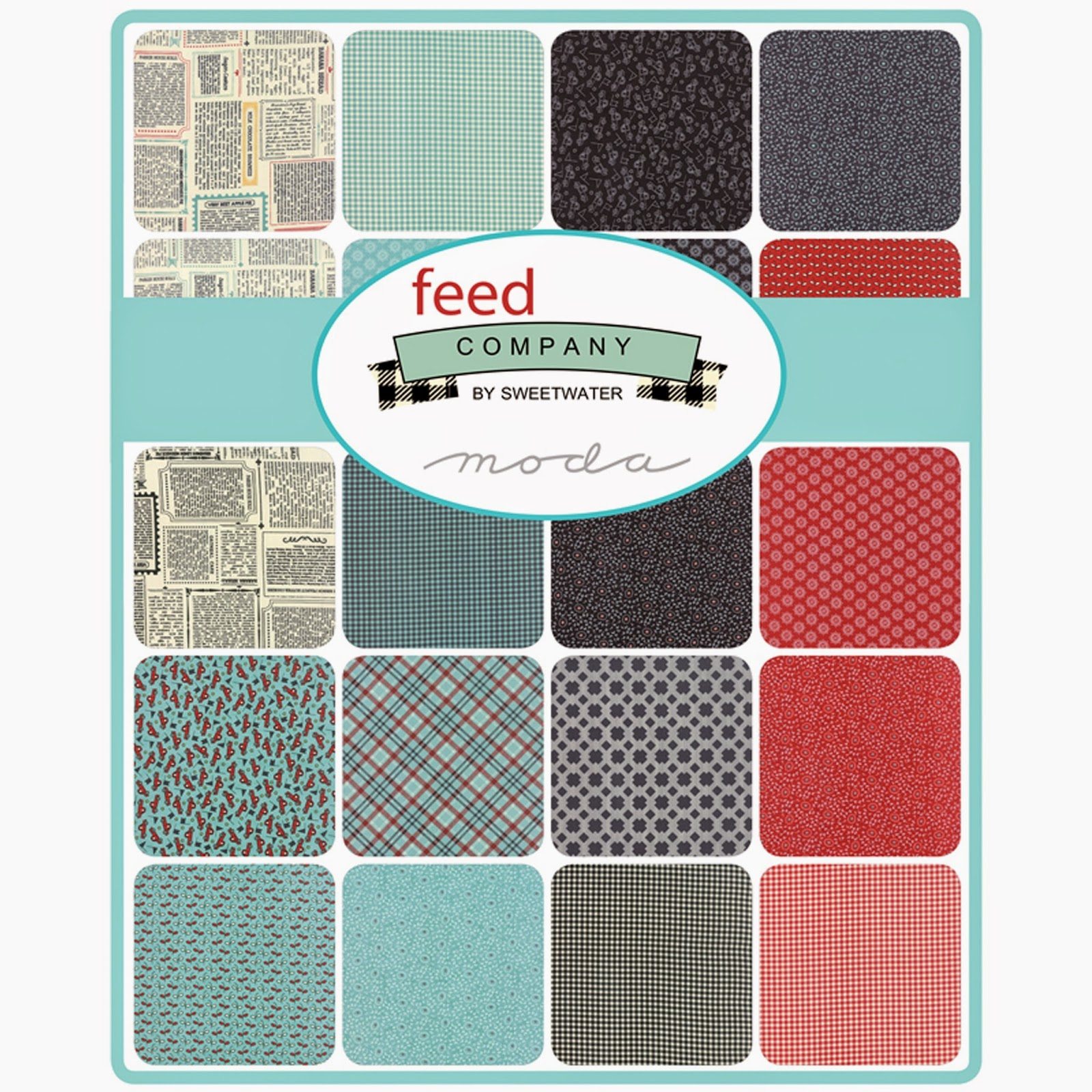 Moda FEED COMPANY Fabric by Sweetwater for Moda Fabrics