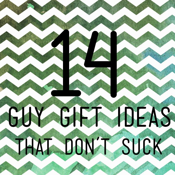 Guys are the hardest to do homemade gifts for...