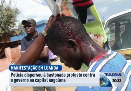 Frustradas as tentativas de manifestação em Angola, há relatos de feridos
