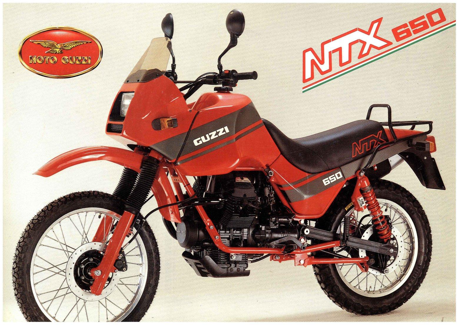Moto Guzzi NTX 650 Enduro