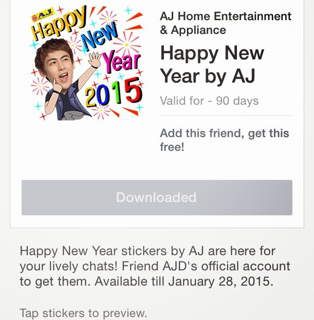 Happy New Year by AJ