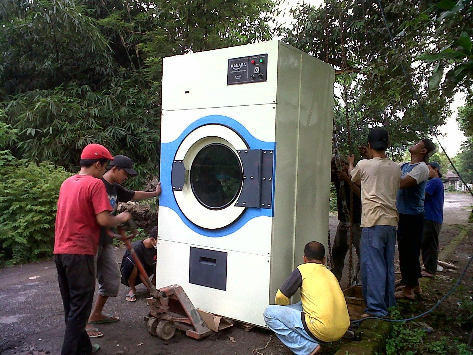 Mesin Pengering Laundry 66 kg