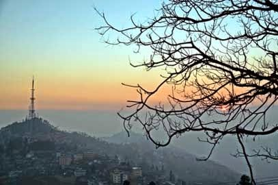 Kurseong TV tower eagle crag