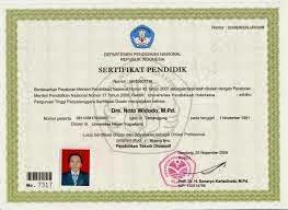 sertifikat guru