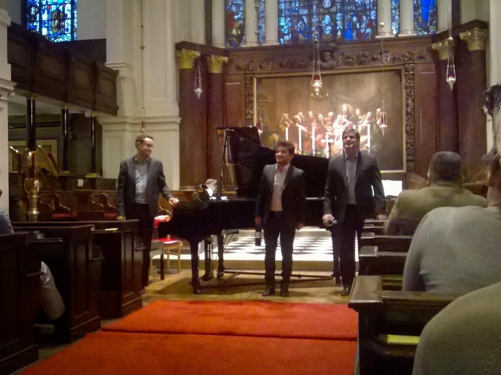 William Vann, David de Winter, and Gareth John
