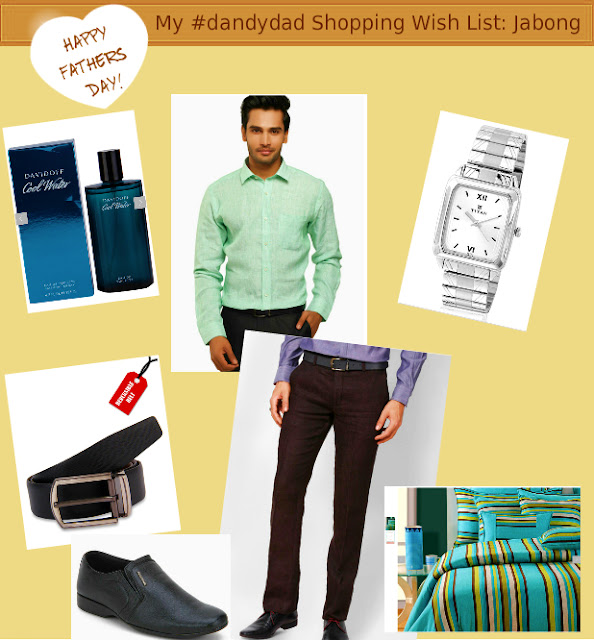 My #dandydad Shopping Wish List: Jabong