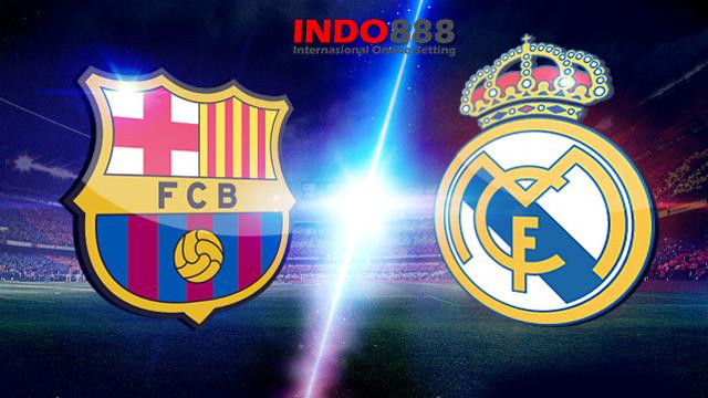 Hasil Pertandingan Real Madrid  vs Barcelona - Indo888